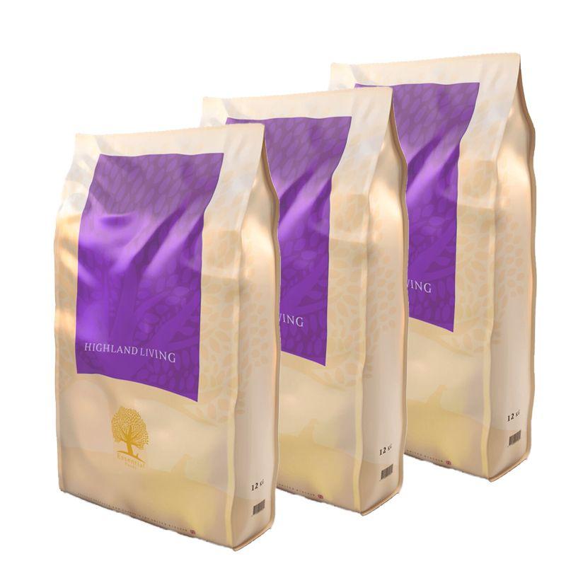 ESSENTIAL Highland Living 3x12 kg Essential Foods