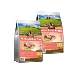Wuff! Adult Lamb & Rice 2x15kg