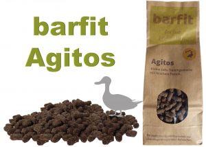 AGITOS měkká tréninková odměna - kachna monoprotein 250g