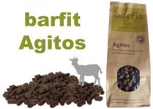 AGITOS měkká tréninková odměna - koza monoprotein 250g
