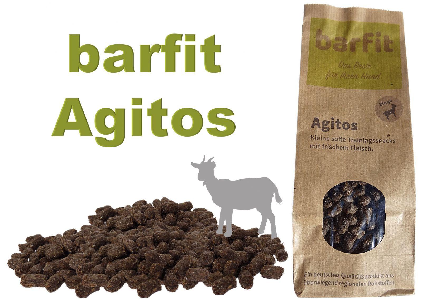 AGITOS měkká tréninková odměna - koza monoprotein 250g Wallitzer