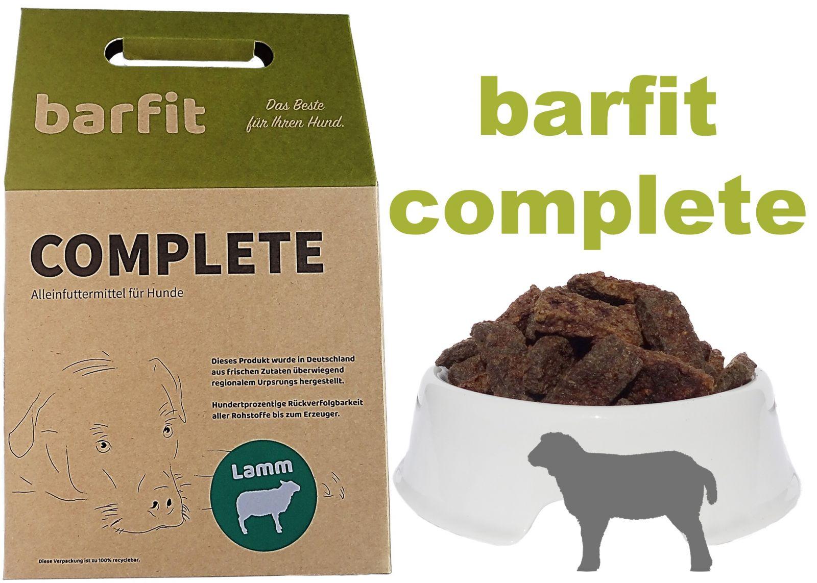 BARFIT kompletní barf směs - jehně 1000g Wallitzer