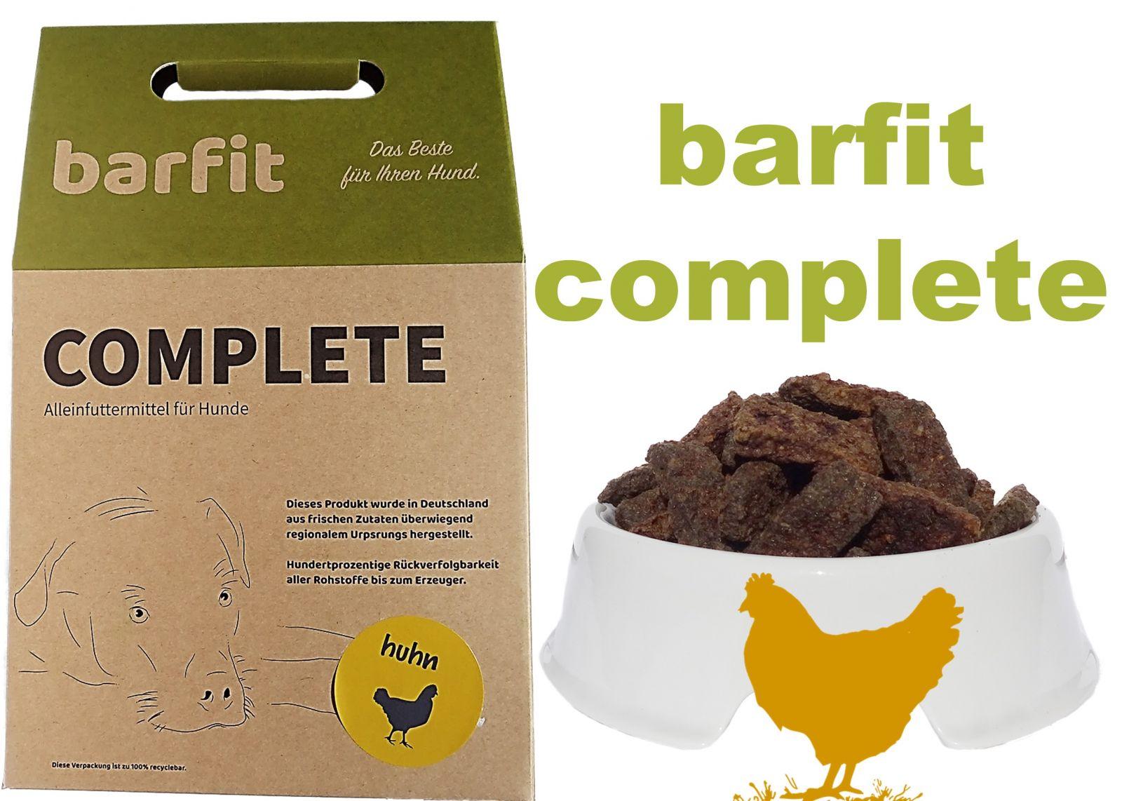 BARFIT kompletní barf směs - kuře 1000g Wallitzer