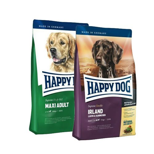 HD Maxi Adult 14kg + HD IRLAND 12,5kg Happy Dog