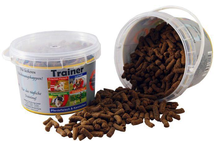 Tréninkové mini pamlsky pes 300g (kyblík) - konina a králík Wallitzer
