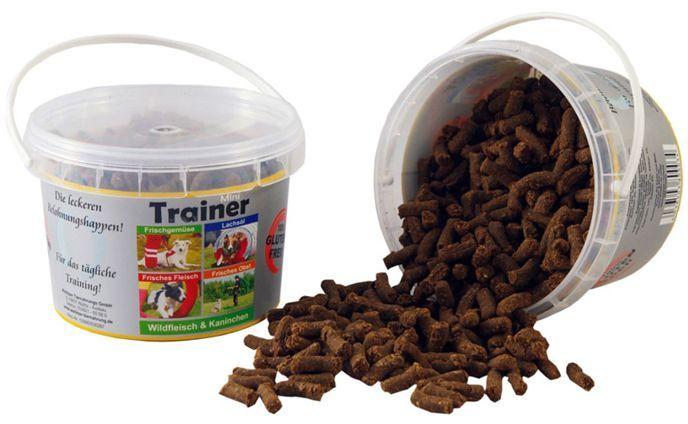 Tréninkové mini pamlsky pes 300g (kyblík) - zvěřina a králík Wallitzer