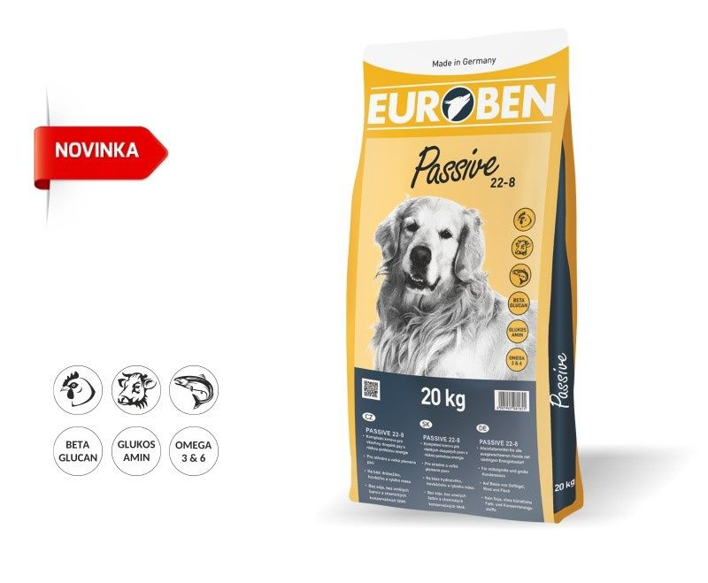 EUROBEN 22-8 Passive 20kg Happy Dog