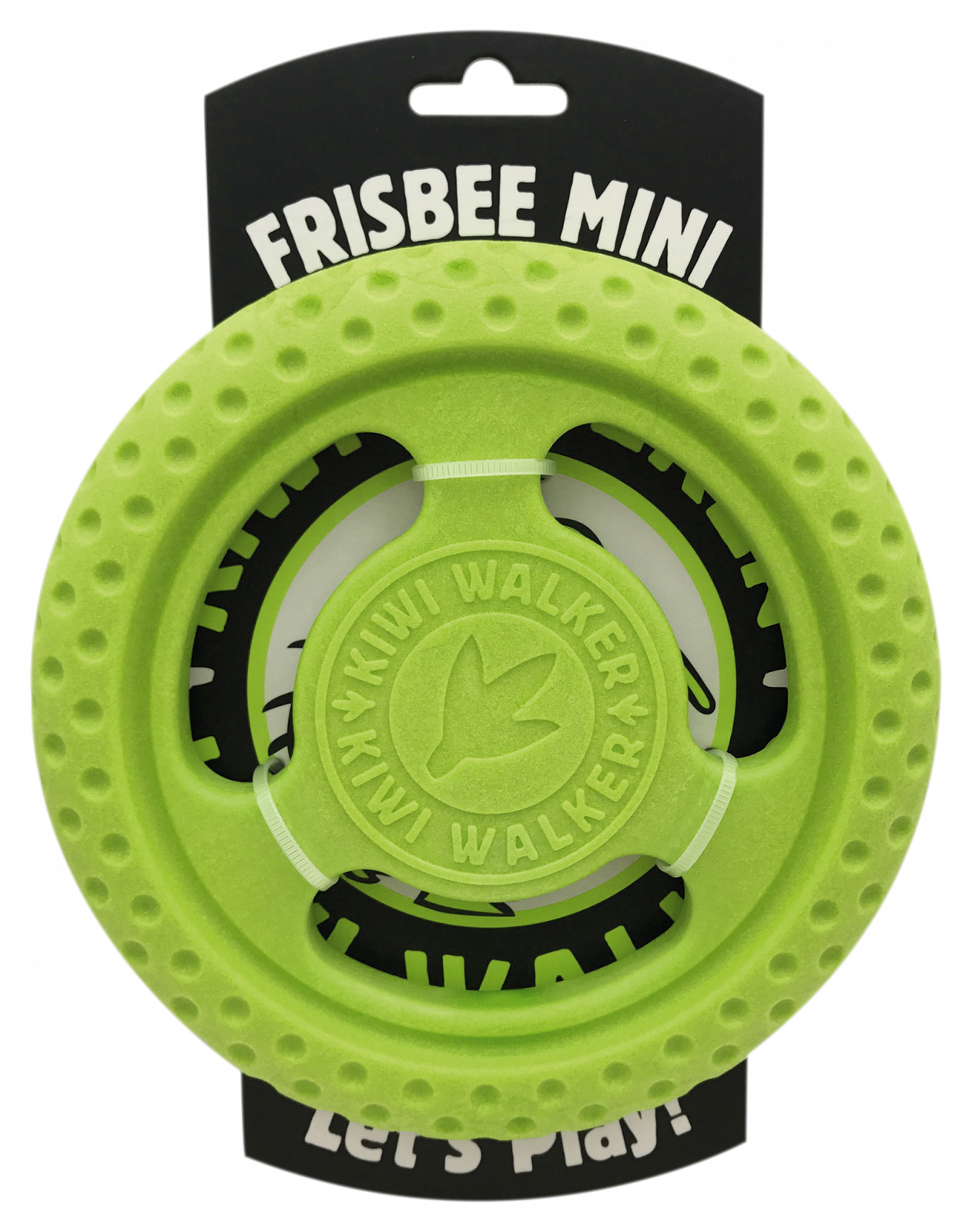 KiwiWalker Let's play! FRISBEE MINI green (16cm)