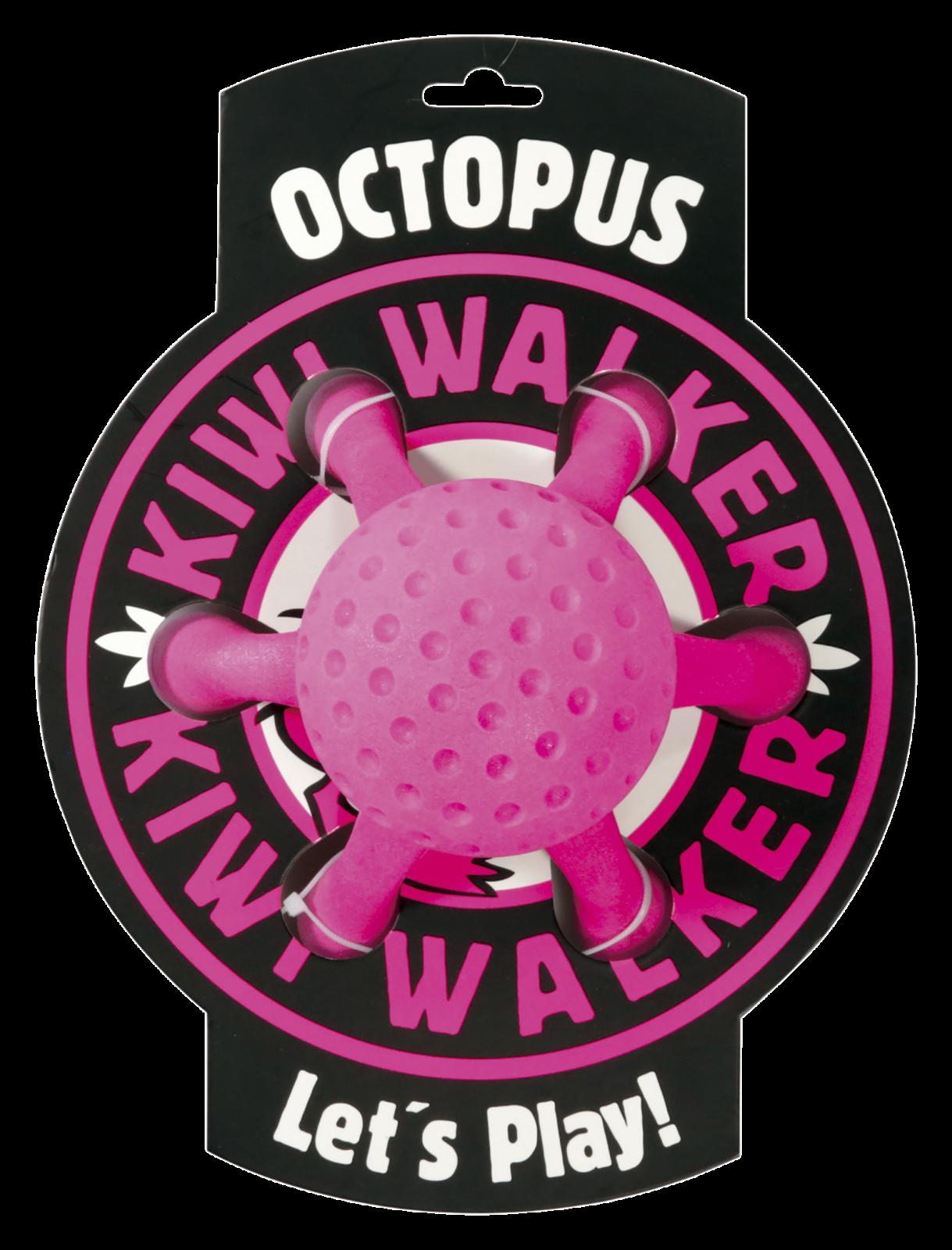 KiwiWalker Let's play! OCTOPUS MAXI pink (20cm)