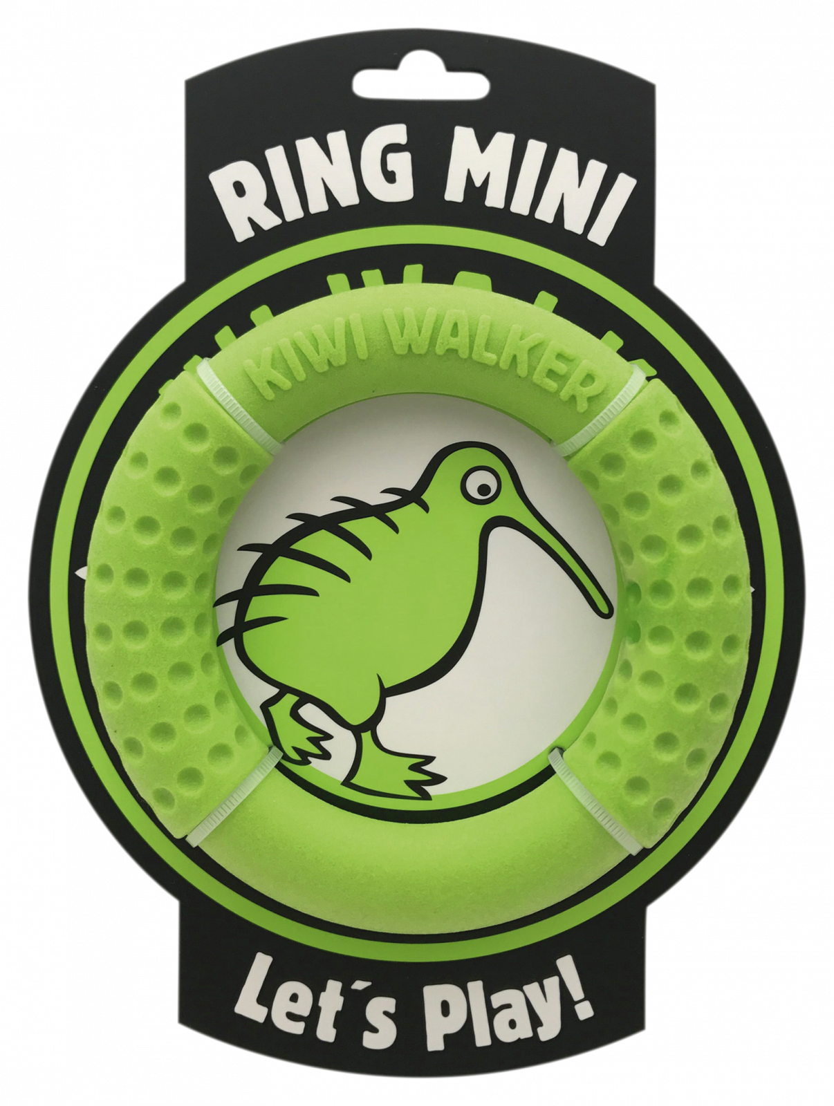 KiwiWalker Let's play! RING MINI green (13cm)