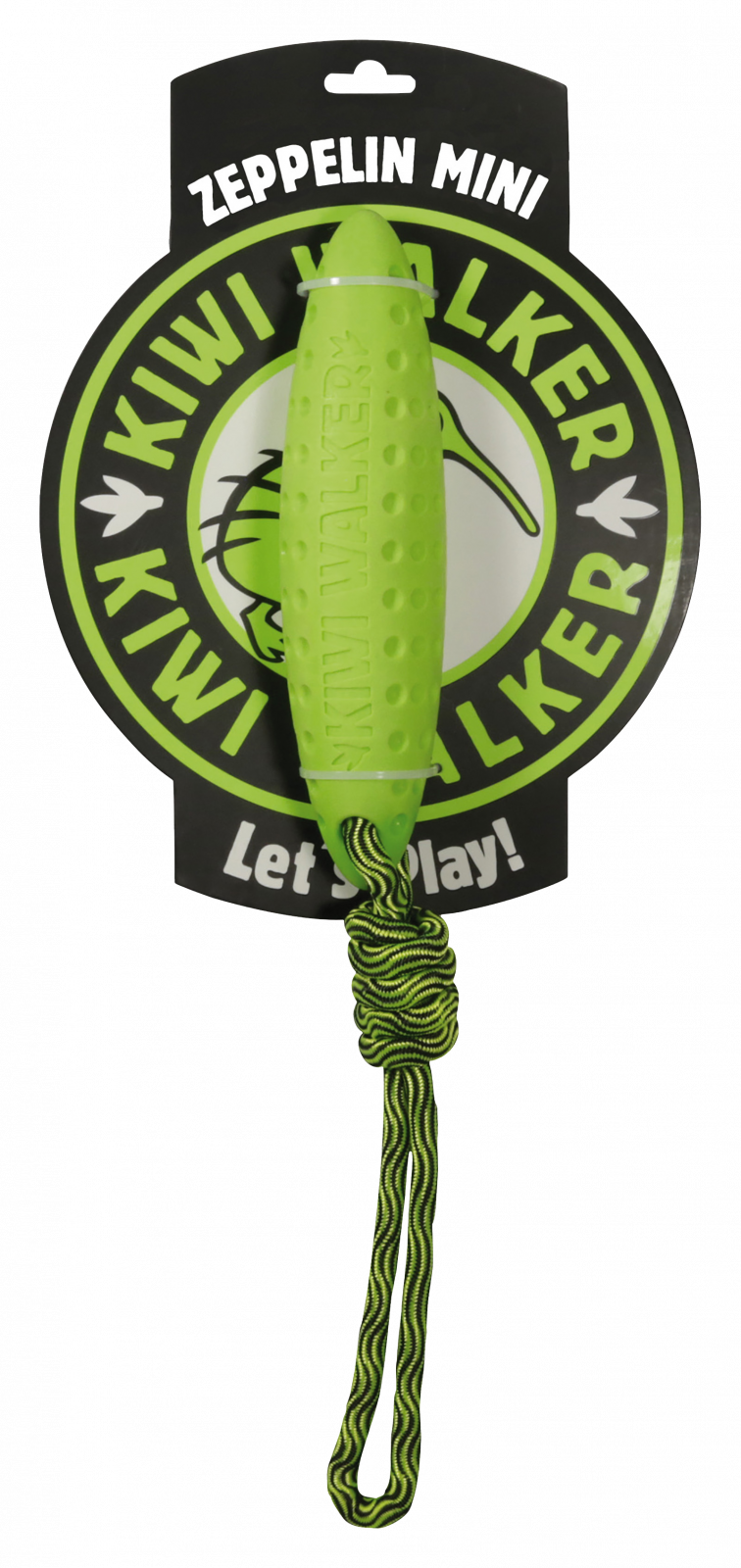 KiwiWalker Let's play! Zeppelin MINI green (17cm)