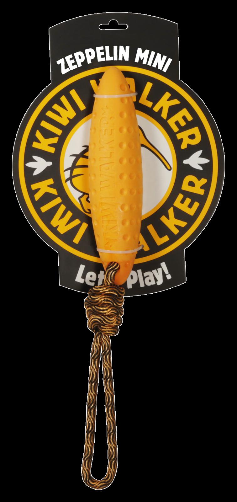 KiwiWalker Let's play! Zeppelin MINI orange (17cm)