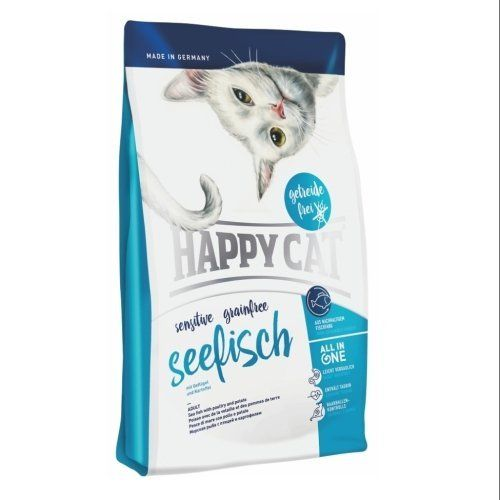 Happy Cat Sensitive Grainfree Seefisch 4kg Happy Dog