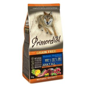 Primordial Pet Food PGF Adult Tuna & Lamb 12kg + Pochoutka 250g ZDARMA
