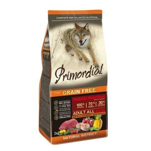Primordial Pet Food PGF Adult Buffalo & Mackerel 2x12kg