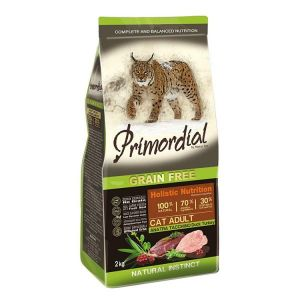 Primordial Pet Food PGF Cat Adult Duck & Turkey 2kg