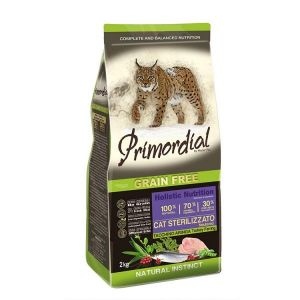Primordial Pet Food PGF Cat Neutered Turkey&Herring 2kg