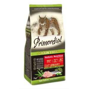 Primordial Pet Food PGF Cat Urinary Turkey&Herring 2kg
