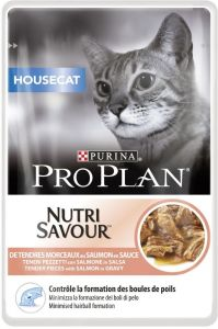 Purina Pro Plan Cat Housecat Losos kapsička 85g