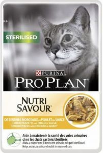 Purina Pro Plan Cat Sterilised Kuře kapsička 85g