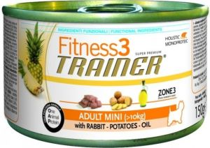 TRAINER Fitness 3 Adult Mini kralik a brambory 150g