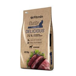 Fitmin Cat Purity Delicious 10kg + 1,5kg ZDARMA