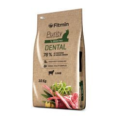 Fitmin Cat Purity Dental 10 kg + 1,5kg ZDARMA