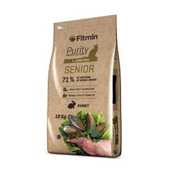 Fitmin Cat Purity Senior 10kg + 1,5kg ZDARMA