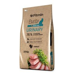 Fitmin Cat Purity Urinary 10kg + 1,5kg ZDARMA