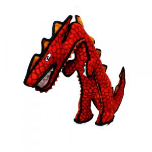 TUFFY Dinosaur DESTRUCTOSAURUS -  červený stojící