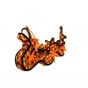 TUFFY Dragon ORANGE - drak