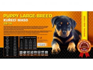 Bardog Puppy Large Breed XL 15kg